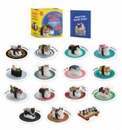 Sushi Cats Magnet Set by Tange Peanuts & Nakimushi Peanuts