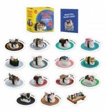 Sushi Cats Magnet Set