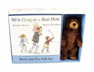 We're Going On A Bear Hunt Board Book and Plush Toy Gift Set