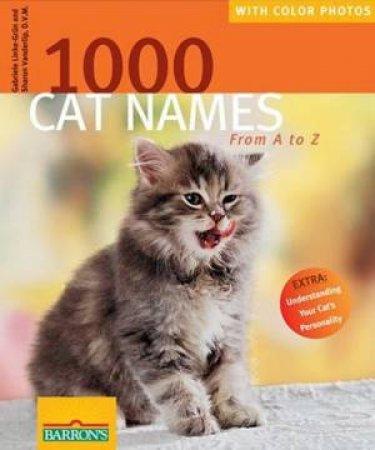 1000 Cat Names by Gabriele Linke-Grun