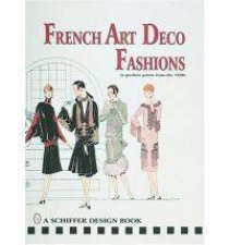 French Art  Deco Fashions in  Pochoir Prints from  the 1920s