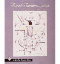 French Fashions of Good Taste 19201922 from Pochoir Illustrations