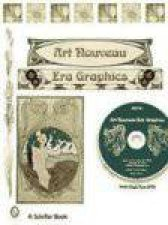Treasury of Art Nouveau Era Decorative Arts and Graphics Ornamental Figures Flowers Emblemas Landscapes and Animals with DVD