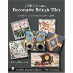 20th Century Decorative British Tiles Commercial Manufacturers JW