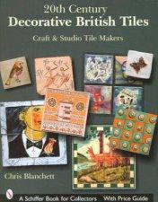 20th Century Decorative British Tiles Craft and Studio Tile Makers