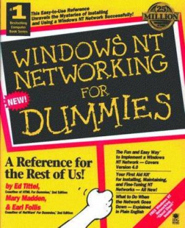 Windows NT Networking For Dummies by Ed Tittel & Mary Madden & Earl Follis