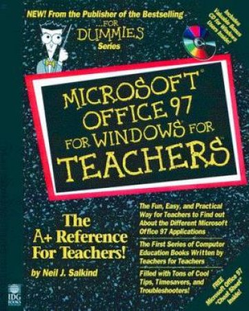 Microsoft Office 97 For Windows For Teachers by Neil J Salkind