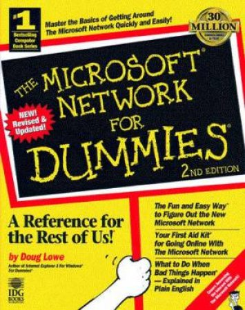 The Microsoft Network For Dummies by Doug Lowe