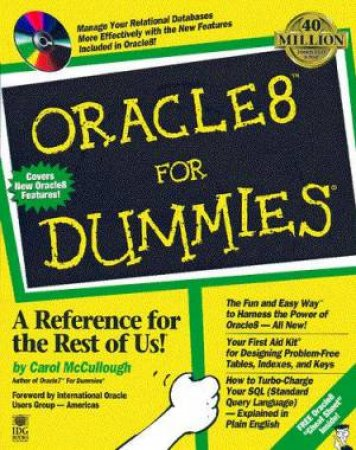 Oracle8 For Dummies by Carol McCullough
