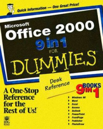 Microsoft Office 2000 9 In 1 For Dummies Desk Reference by Various