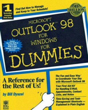 Microsoft Outlook 98 For Windows For Dummies by Bill Dyszel - 9780764503931  - QBD Books