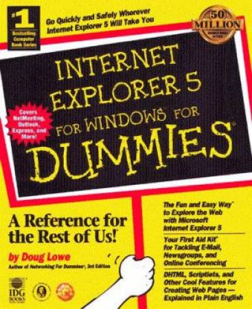 Internet Explorer 5 For Windows For Dummies by Doug Lowe