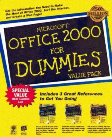 Microsoft Office 2000 For Dummies Value Pack by Wallace Wang & Asha Dornfest & Doug Lowe