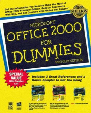 Microsoft Office 2000 For Dummies Premium Edition by Wallace Wang & Asha Dornfest