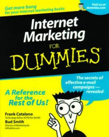 Internet Marketing For Dummies by Catalano