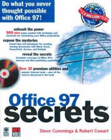 Office 97 Secrets by Robert Cowart & Steve Cummings