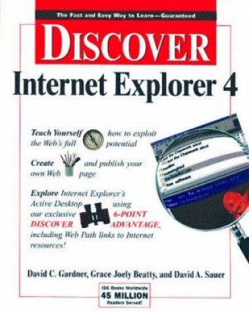 Discover Internet Explorer 4 by Various