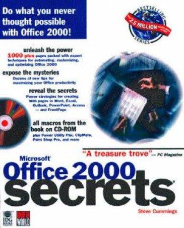 Microsoft Office 2000 Secrets by Steve Cummings