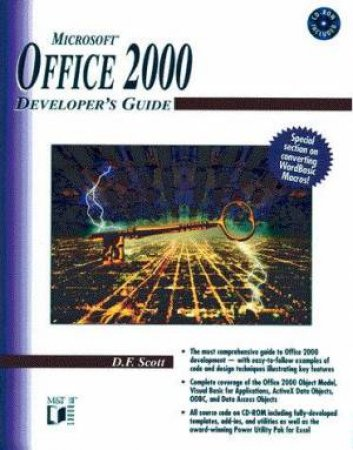 Microsoft Office 2000 Developer's Guide by D F Scott