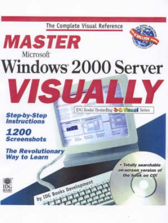 Master Windows 2000 Server Visually by Various