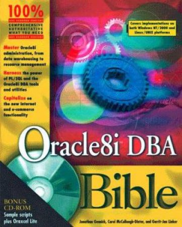 Oracle8i DBA Bible by Carol McCullough-Deter & Jonathan Gennick