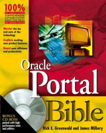 Oracle Portal Bible by Rick E Greenwald & James Milbery