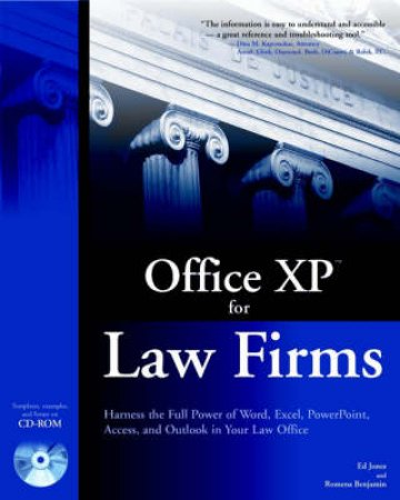 Office XP For Law Firms by Ed Jones & Romena Benjamin