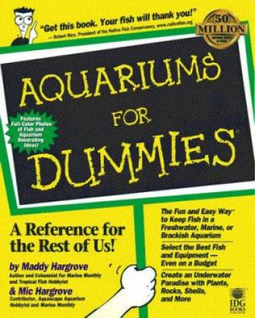Aquariums For Dummies by Maddy Hargrove & Mic Hargrove