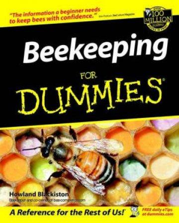 Beekeeping For Dummies by Howard Blackiston