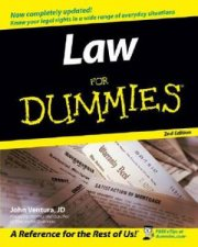 Law For Dummies - 2nd Ed by Ventura