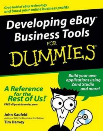 Developing Ebay Business Tools by Kaufeld