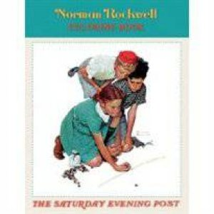 Saturday Evening Post Coloring Book by Norman Rockwell