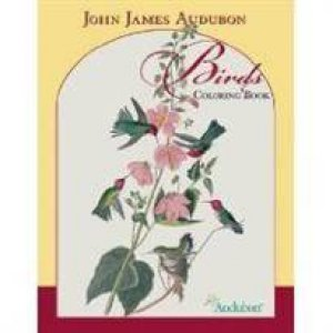 Birds Coloring Book by John James Audubon