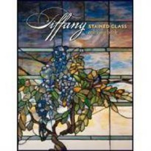 Tiffany: Stained Glass Coloring Book by Various