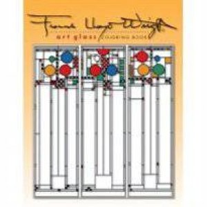 Art Glass Coloring Book by Frank Lloyd Wright