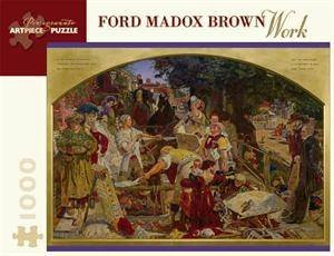 Work Jigsaw Puzzle Aa657 by Ford Madox Brown
