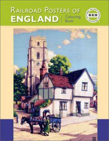 Railroad Posters England Colouring Book  by Various