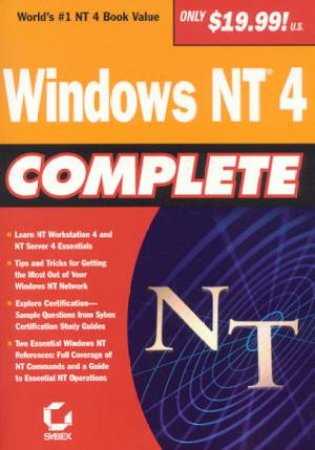 Windows NT 4 Complete by Various