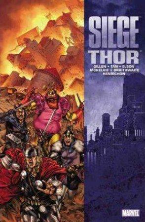 Siege: Thor by Kieron Gillen, Jamie McKelvie & Billy Tan