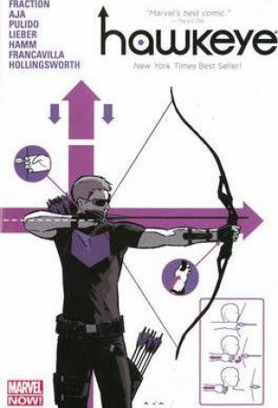 Hawkeye Volume 1 (Oversized Hardcover) by Matt Fraction & Davi Aja