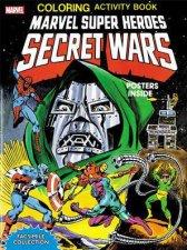 Marvel Super Heroes Secret Wars Activity Book  Facsimile Edition
