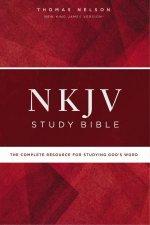 NKJV Study Bible Red Letter Edition