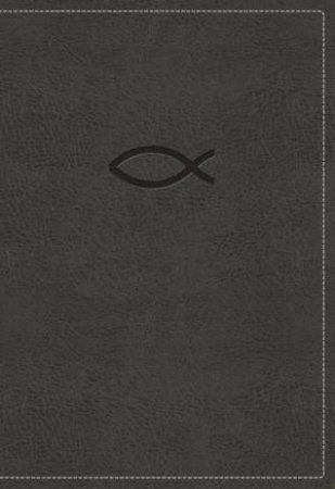 NKJV Thinline Bible Youth Red Letter Edition [Grey] by Thomas Nelson