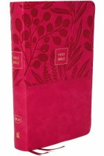 NKJV Endofverse Reference Bible Personal Size Large Print Red LetterEdition Comfort Print Holy Bible Pink
