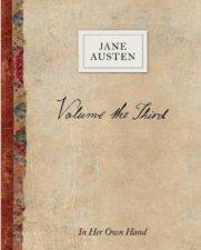 Volume The Third By Jane Austen In Her Own Hand