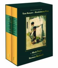 The Adventures Of Tom Sawyer And Huckleberry Finn Norman Rockwell Collectors Edition