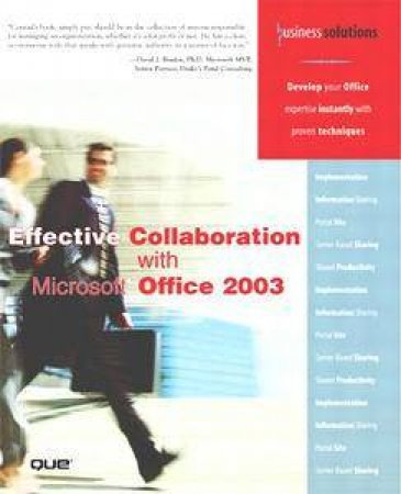 Effective Collaboration With Micosoft Office 2003 by Various
