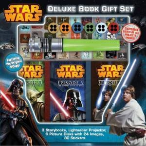 Star Wars Deluxe Book Gift Set by Various