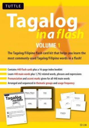Tagalog In A Flash: Vol  1 by Edwin C  Lim - 9780804839075 - QBD Books