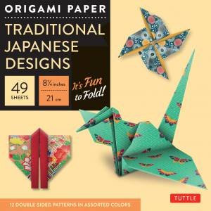 Origami Paper: Traditional Japanese Designs Large by Various